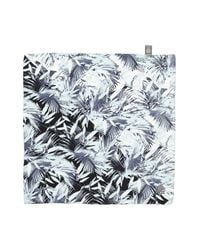 Vince Camuto - Gray 'palm Springs' Silk Square Scarf - Lyst