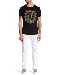 Versace - White Slim Fit Jean for Men - Lyst