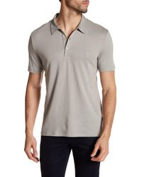 Versace | Metallic Collared Short Sleeve Shirt for Men | Lyst