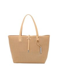 Vince Camuto | Natural Leila Laser-cut Tote | Lyst