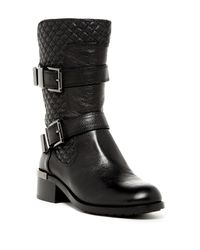 Vince Camuto | Black Welton Leather Mid-Calf Boots | Lyst