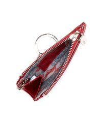 Hobo - Red Kai Vintage Leather Card Case - Lyst