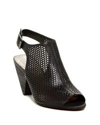 Vince Camuto | Black Evangelina Cutout Sandal | Lyst