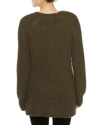 Sanctuary - Green Sequoia V-neck Sweater - Lyst