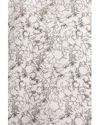 Rag & Bone | White Clayton Abstract Print Cotton & Silk Tank | Lyst