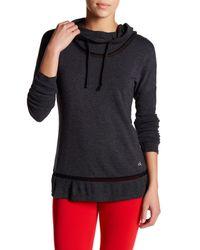 Alo Yoga | Multicolor Hail Long Sleeve Hooded Tee | Lyst