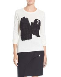 Opening Ceremony - White Komondor Fringed Wool Blend Pullover - Lyst