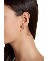 kate spade new york - Multicolor Dainty Sparklers Delicate Ear Jacket - Lyst