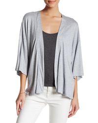 Joe Fresh - Gray 3/4 Length Sleeve Kimono - Lyst