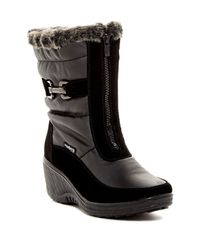 Santana Canada | Black Wynter Faux Fur Waterproof Boot | Lyst