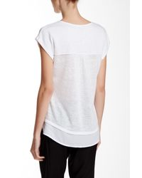 Sanctuary - White Remix Tee - Lyst