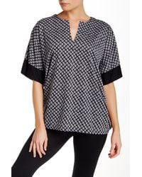 N Natori | Black Top Sleep Shirt | Lyst