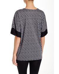 N Natori   Black Top Sleep Shirt   Lyst