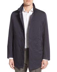 Sanyo   Blue Classic Fit Raincoat for Men   Lyst