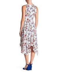 Jessica Simpson - Multicolor Sleeveless Floral Dress - Lyst