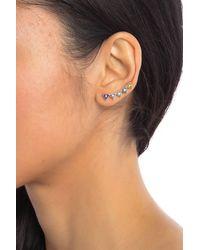 Rebecca Minkoff - Multicolor Triangle Ear Crawlers - Lyst