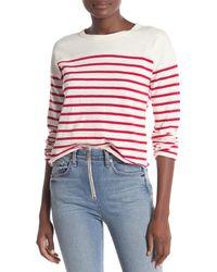 d312dcdcd8 Rag & Bone. Women's Halsey Striped Long Sleeve Shirt