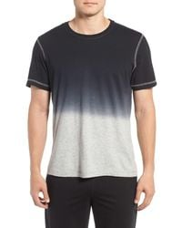 Daniel Buchler - Black Ombre Peruvian Pima Cotton T-shirt for Men - Lyst