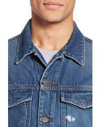 J Brand - Blue Gorn Denim Jacket for Men - Lyst