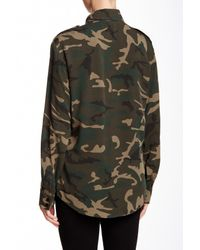 Sanctuary - Green Big Daddy Blouse - Lyst