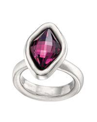 Uno De 50 - Purple Sor Tija Swarovski Crystal Accented Ring - Lyst
