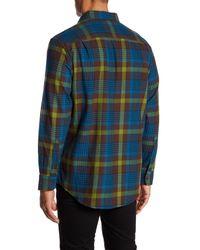 Pendleton - Blue Bridger Twill Plaid Regular Fit Shirt for Men - Lyst