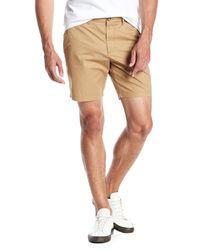 Original Penguin - Natural Basic Slim Fit Shorts for Men - Lyst