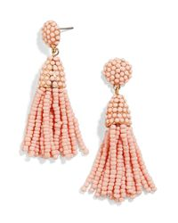 BaubleBar - Multicolor Mini Pinata Tassel Drop Earrings - Lyst