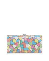 Lodis | Multicolor Zaragoza Quinn Leather Clutch | Lyst
