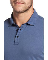Robert Barakett - Blue 'banff' Regular Fit Polo for Men - Lyst