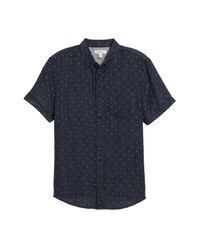 The Rail - Blue Short Sleeve Duofold Shirt for Men - Lyst