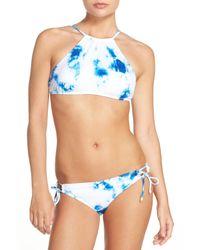 The Bikini Lab - Blue Spacious Skys Bikini Top - Lyst