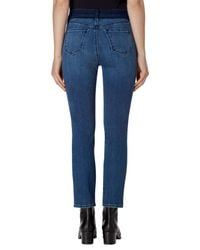 J Brand - Blue Ruby High Waist Crop Skinny Jeans - Lyst