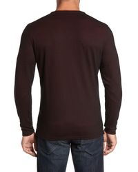Robert Barakett - Multicolor Birmingham Henley for Men - Lyst