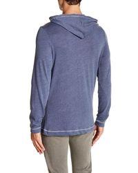 Alternative Apparel - Blue Contrast Stitch Hoodie for Men - Lyst