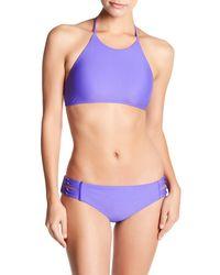 Body Glove | Black Smoothies Elena High Neck Bikini Top | Lyst
