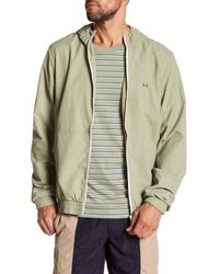 Barney Cools - Green B.quick Track Jacket W/ Hoodie for Men - Lyst