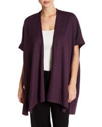 Natori - Purple Kaftan Sleeve Robe - Lyst