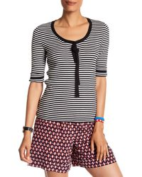 Marc Jacobs - Multicolor Striped Scoop Neck Sweater - Lyst