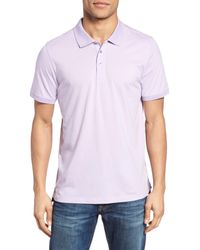 Jeremy Argyle Nyc - Purple Jersey Polo for Men - Lyst
