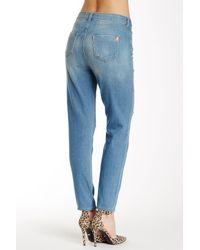 Siwy - Blue Amy Distressed Slim Jean - Lyst
