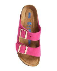 Birkenstock Pink Arizona Soft Footbed Sandal - Discontinued