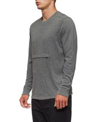 Tavik - Gray Lowell Long Sleeve T-shirt for Men - Lyst