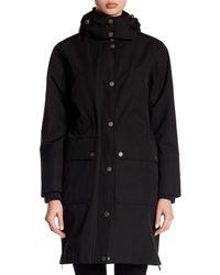 Pendleton - Black Sierra Detachable Hood Long Anorak - Lyst