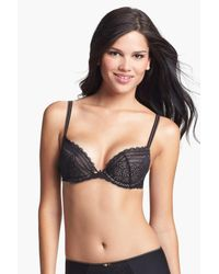 Chantelle | Black Merci Underwire Push-up Bra | Lyst