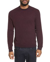 Ted Baker - Purple Norpol Crewneck Sweater for Men - Lyst