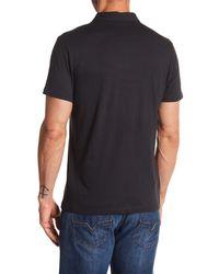 Robert Barakett - Black Andre Short Sleeve Polo for Men - Lyst
