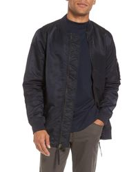 Vince - Multicolor Longline Aviator Jacket for Men - Lyst