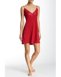 Natori - Feathered Lace Chemise - Lyst