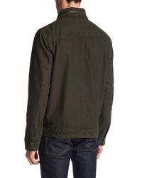 Levi's - Green Canvas Jacket for Men - Lyst